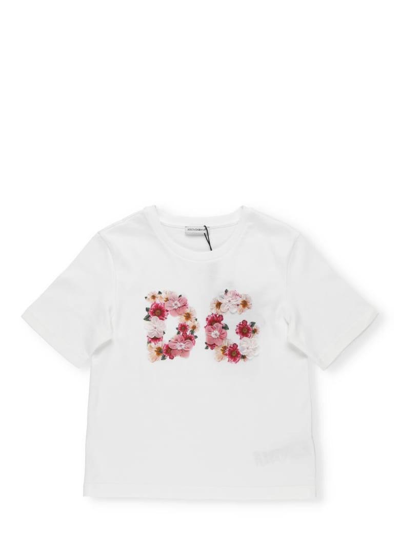 Dolce & Gabbana Cotton T-shirt - CAMELIE ROSA FDO NAT