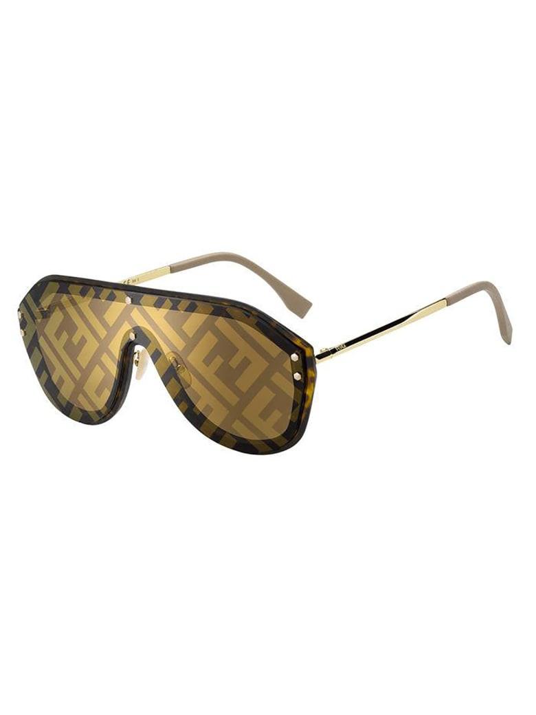 Fendi FF M0039/G/S Sunglasses - Y Havana Beige