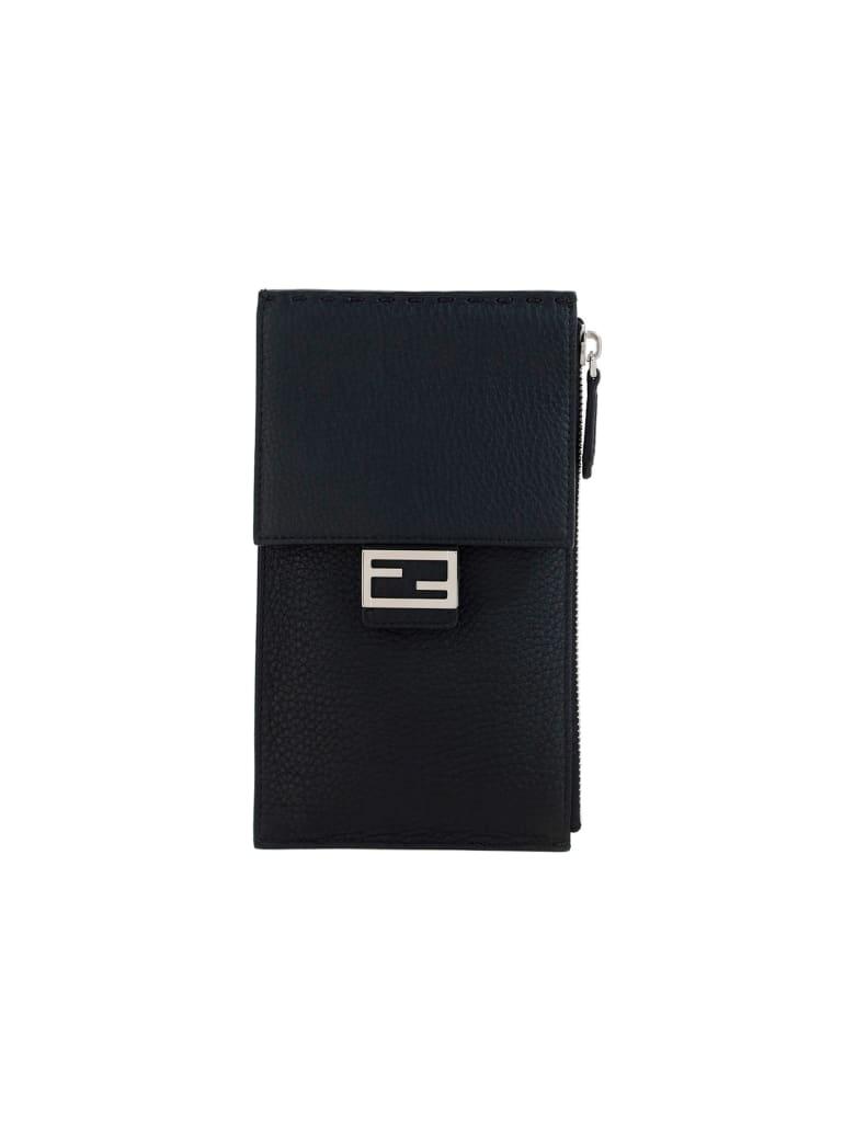 Fendi Phone Bag - Nero+palladio