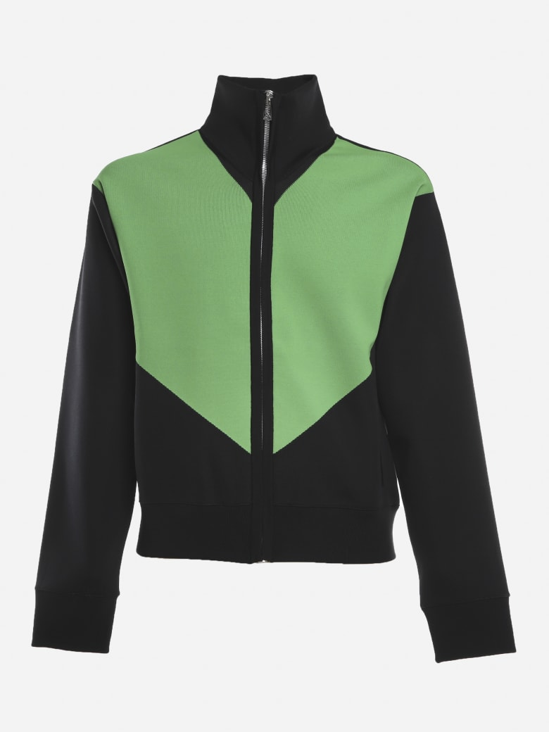 Bottega Veneta Jacket Made Of Double Technical Fabric - Black, green