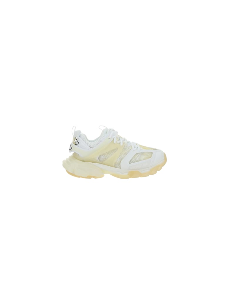 Balenciaga Truck Sneakers - White/transpar sole