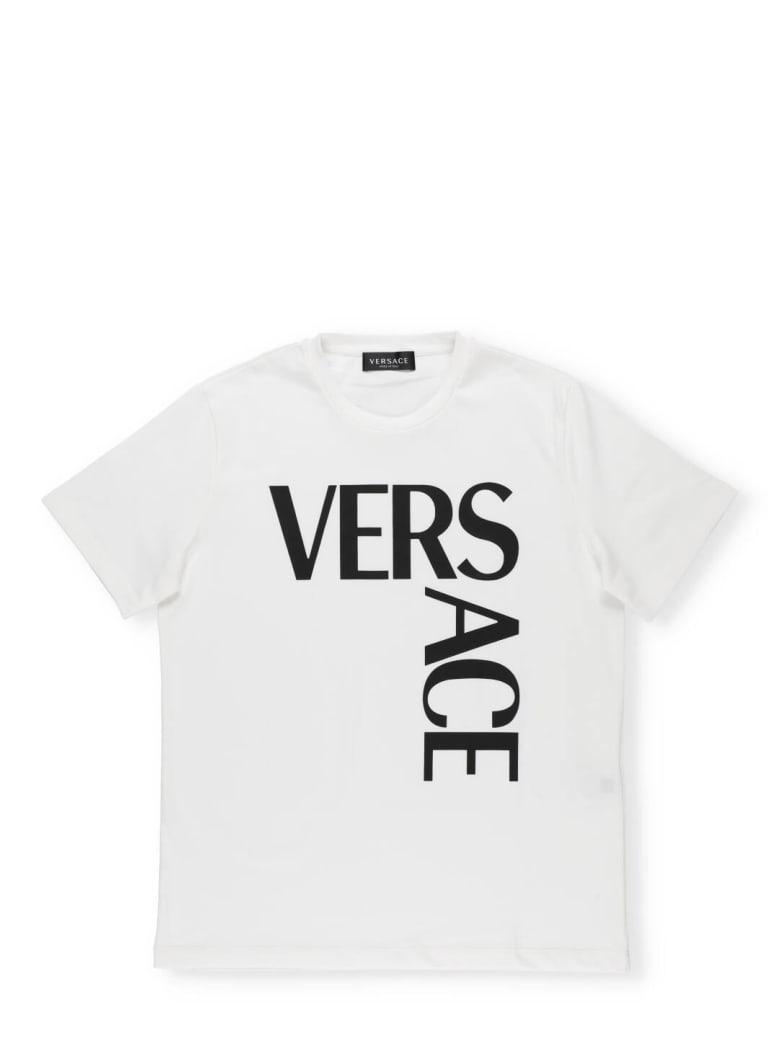 Versace Logo T-shirt - BIANCO+NERO