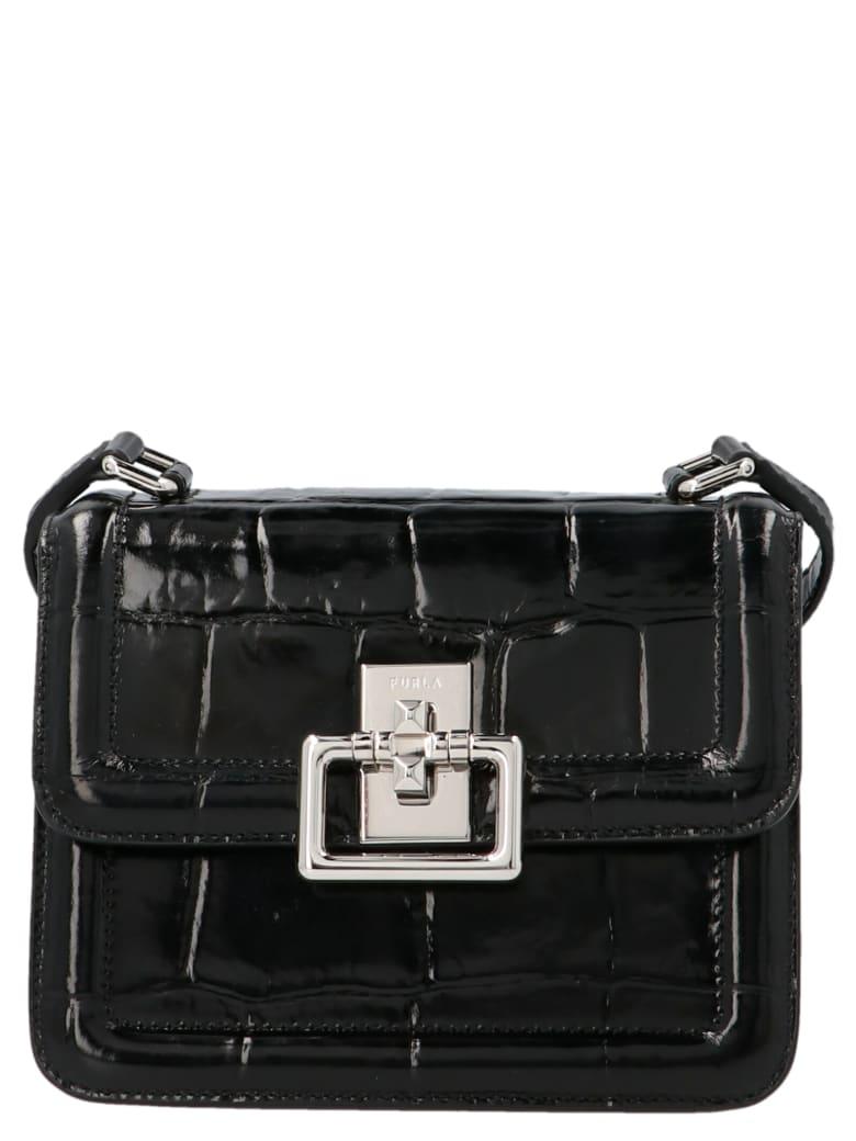 Furla 'villa' Mini Bag - Black