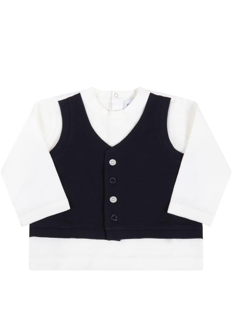 Armani Collezioni White T-shirt For Babyboy - White