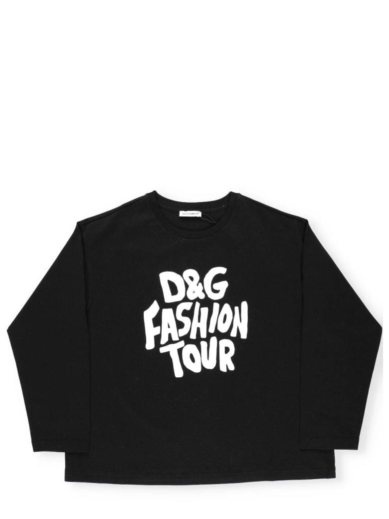 Dolce & Gabbana Dg Fashion Tour Sweater - FASHION TOUR2 F.NERO