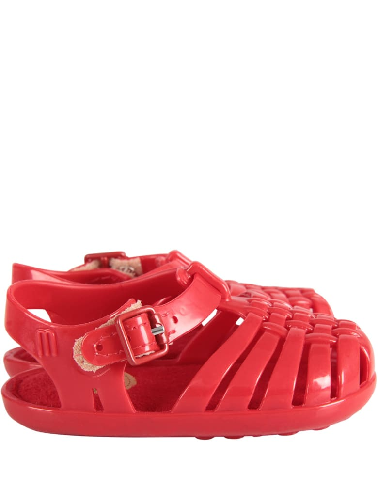 Melissa Red Sandals For Baby Kid - Red