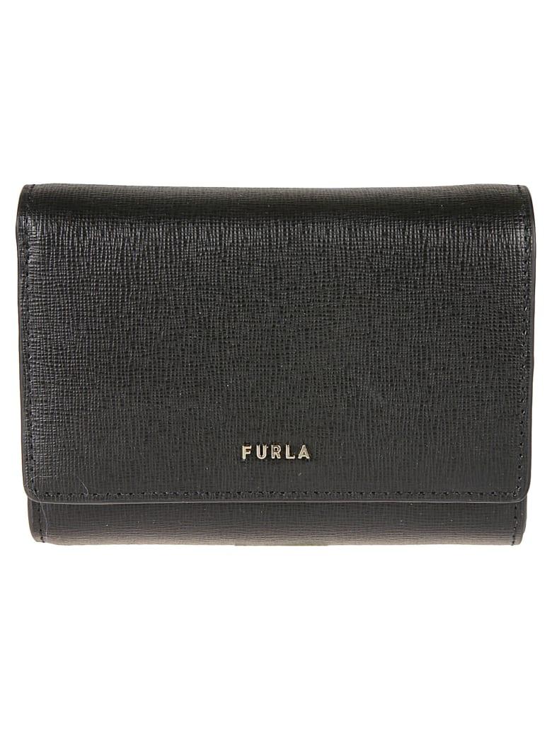 Furla Babylon Compact Wallet - Black