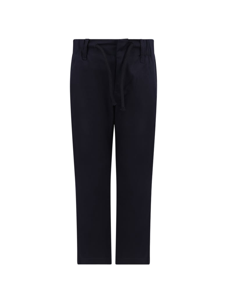 Dondup Blue Boy Pants With Iconic D - Blue