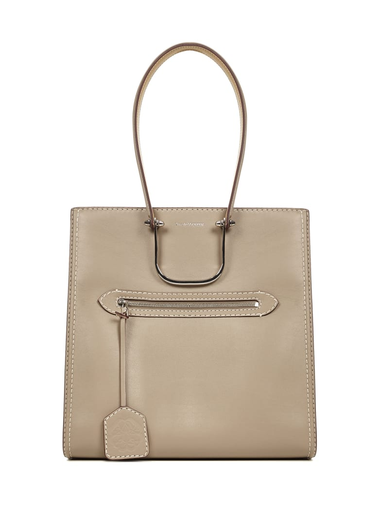 Alexander McQueen The Tall Story Shoulder Bag - Grey