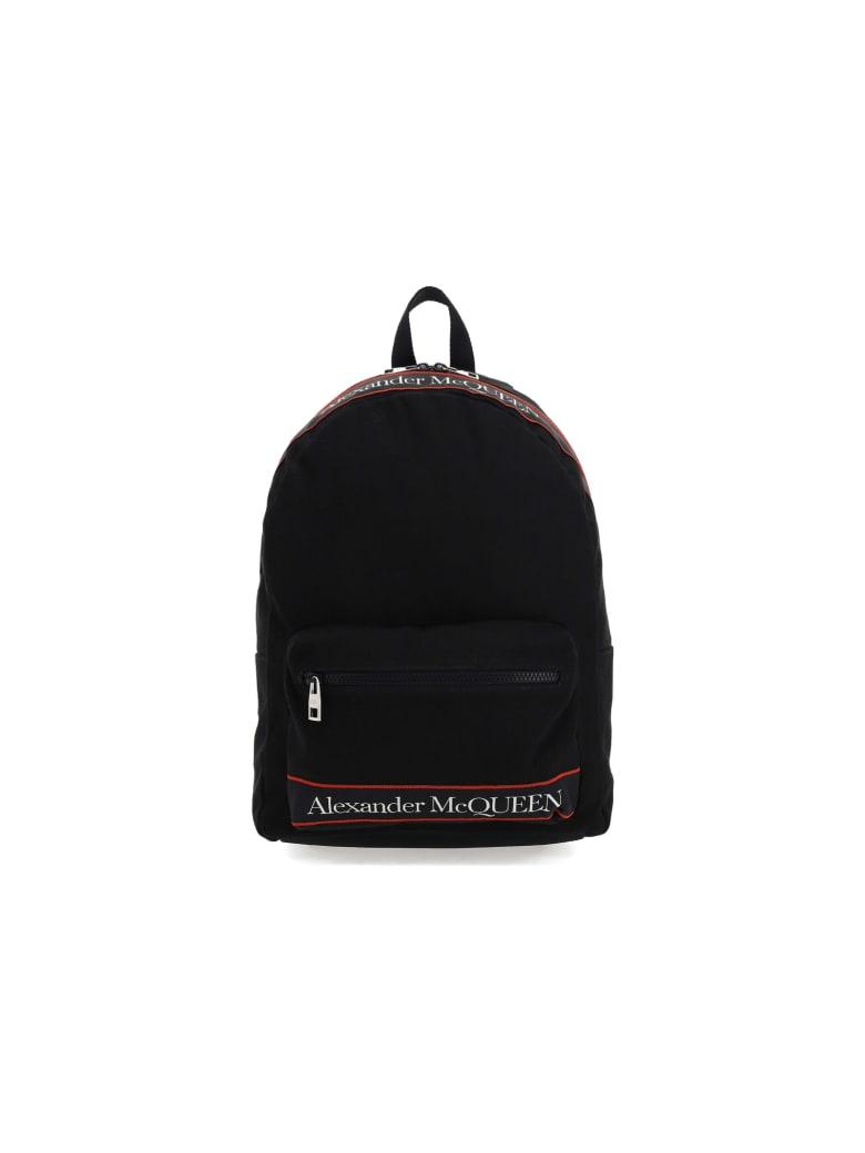 Alexander McQueen Backpack - Black/red