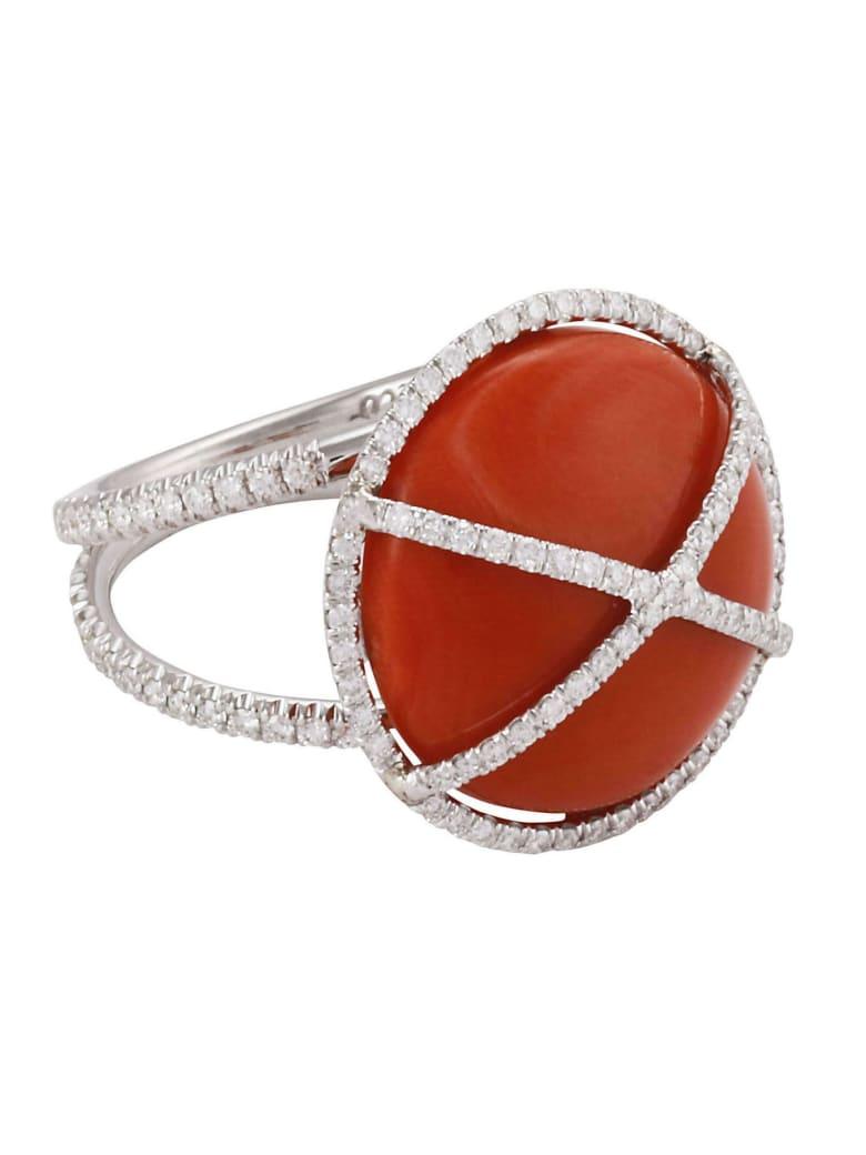 Lo Spazio Jewelry Lo Spazio Mare di Stelle Ring - Red