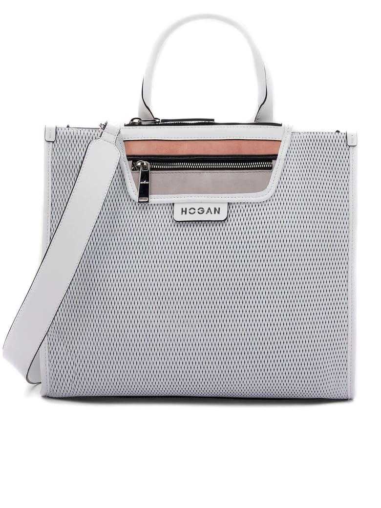 Hogan Shopping Bag Medium White