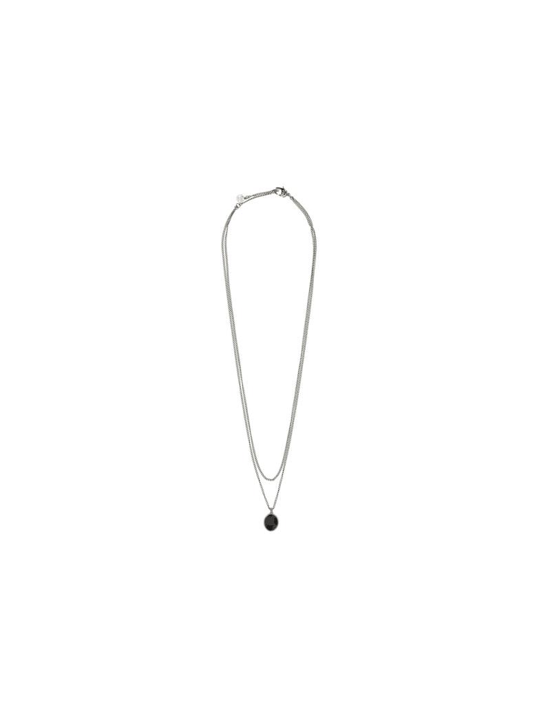 Alexander McQueen Alexander Mc Queen Necklace - A.silver/black