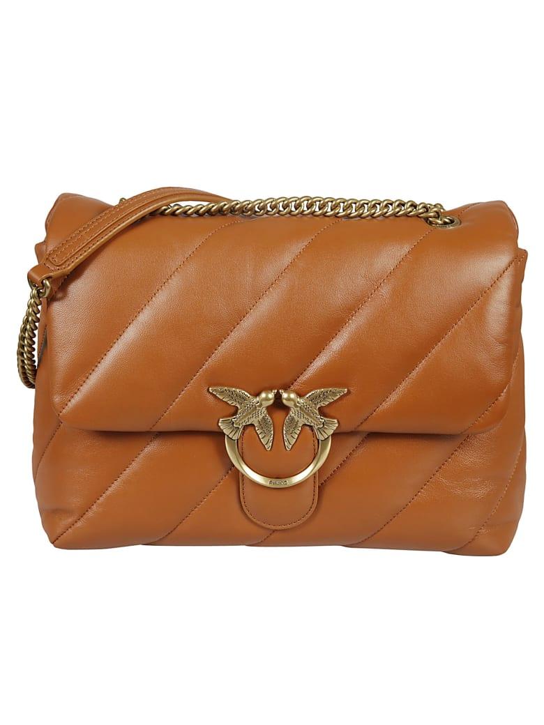 Pinko Love Big Puff Maxi Shoulder Bag - Leather