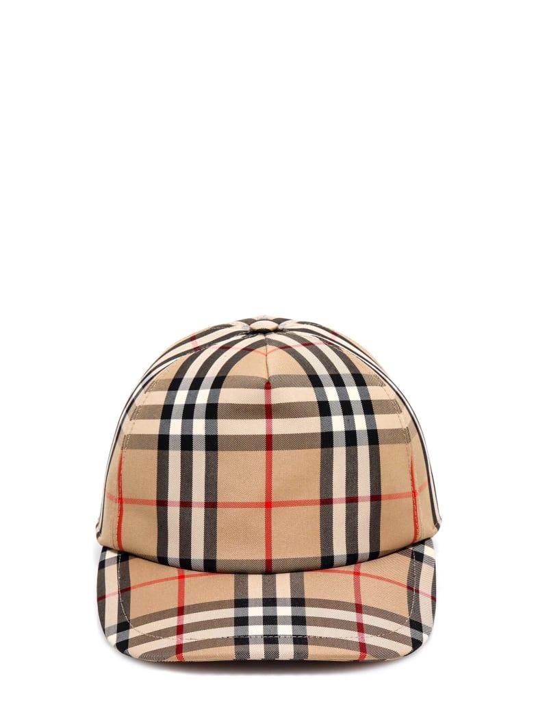 Burberry Hat - BEIGE