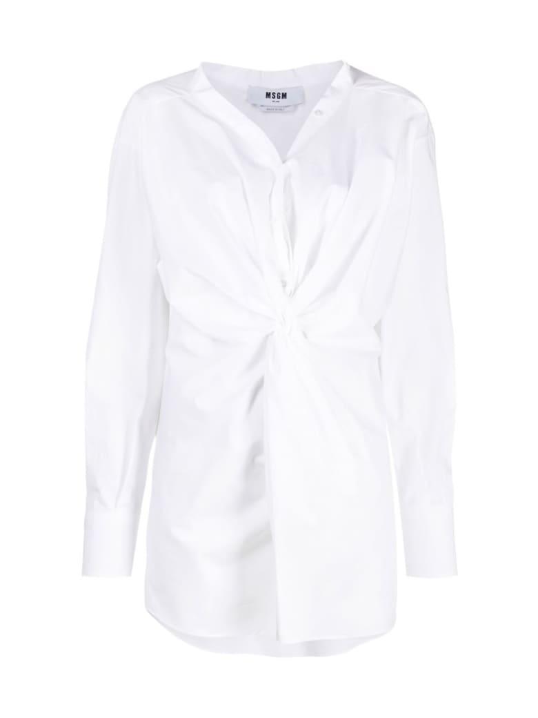 MSGM Cotton Shirt - White