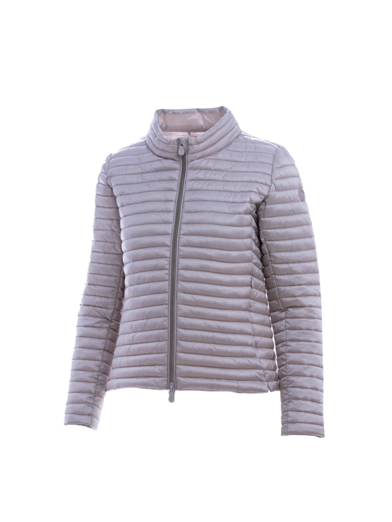 """Save the Duck """"alice"""" Down Jacket - Beige"""