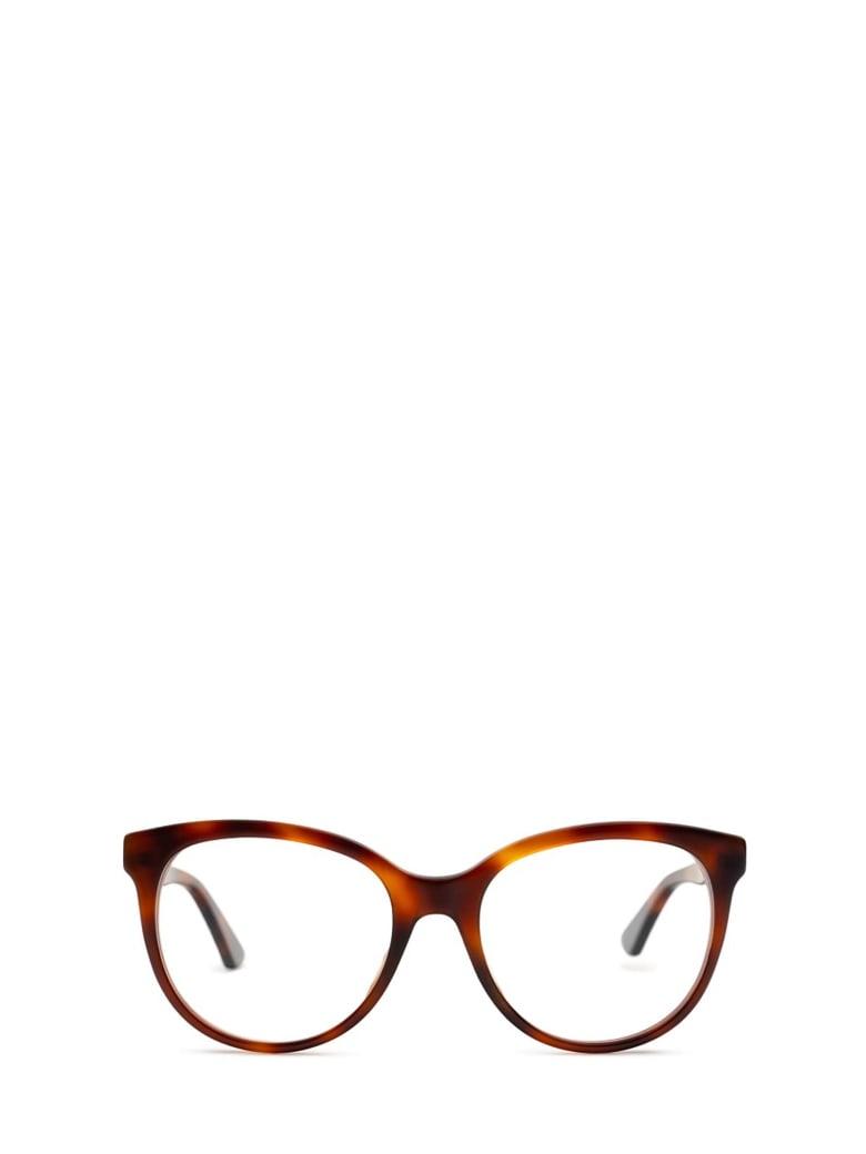 Gucci Gucci Gg0329o Havana Glasses - Havana