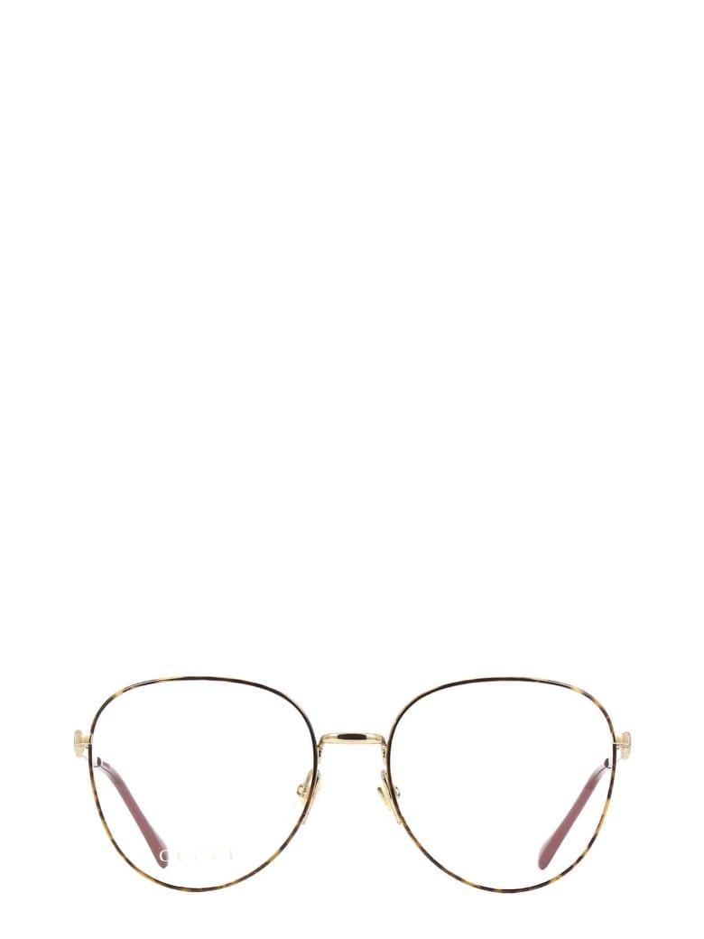 Gucci Gucci Gg0880o Havana Glasses - Havana
