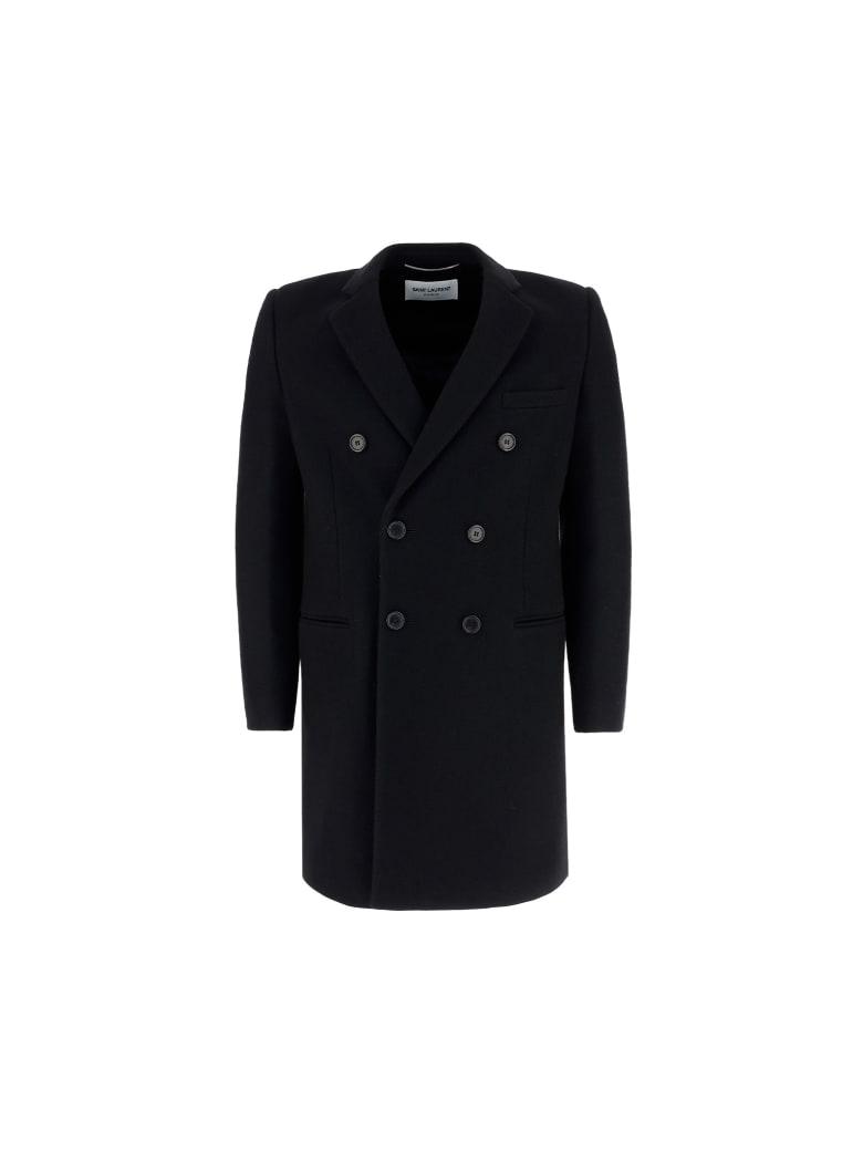 Saint Laurent Coat - Noir