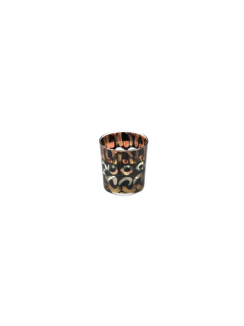 Le Botteghe su Gologone Glass Colored 8,5 X 9 Cm - Black