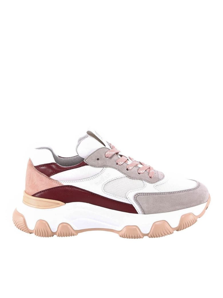 Hogan Laced Shoes - Rosa e Multicolore