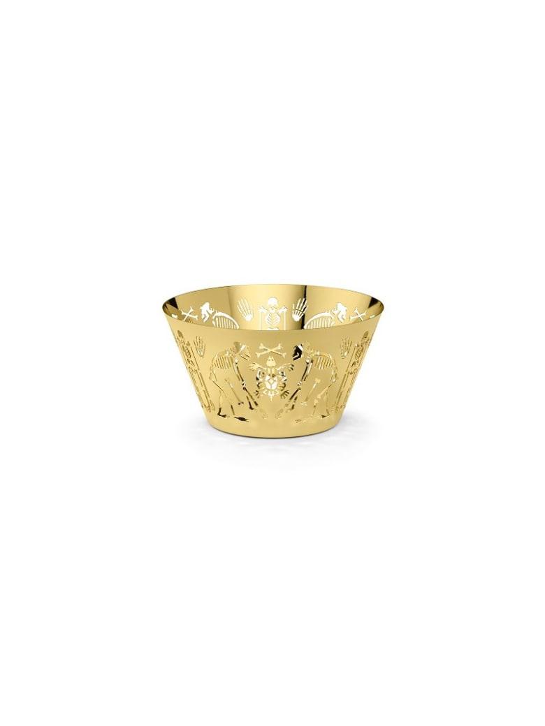 Ghidini 1961 Perished - Large Bowl Polished Gold - Polished gold