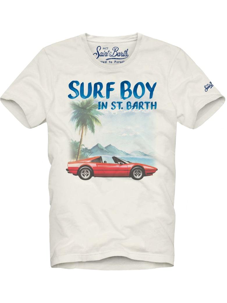 MC2 Saint Barth Car Surf Boy's T-shirt
