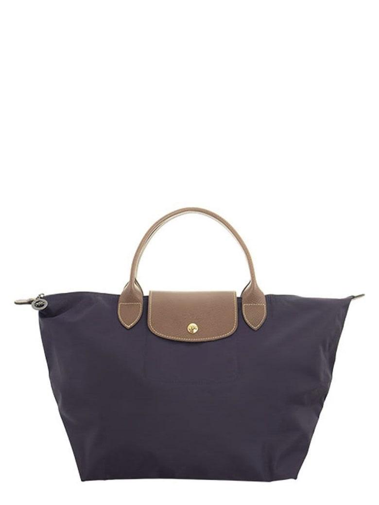 Longchamp Le Pliage - Top Handle M - Blueberry