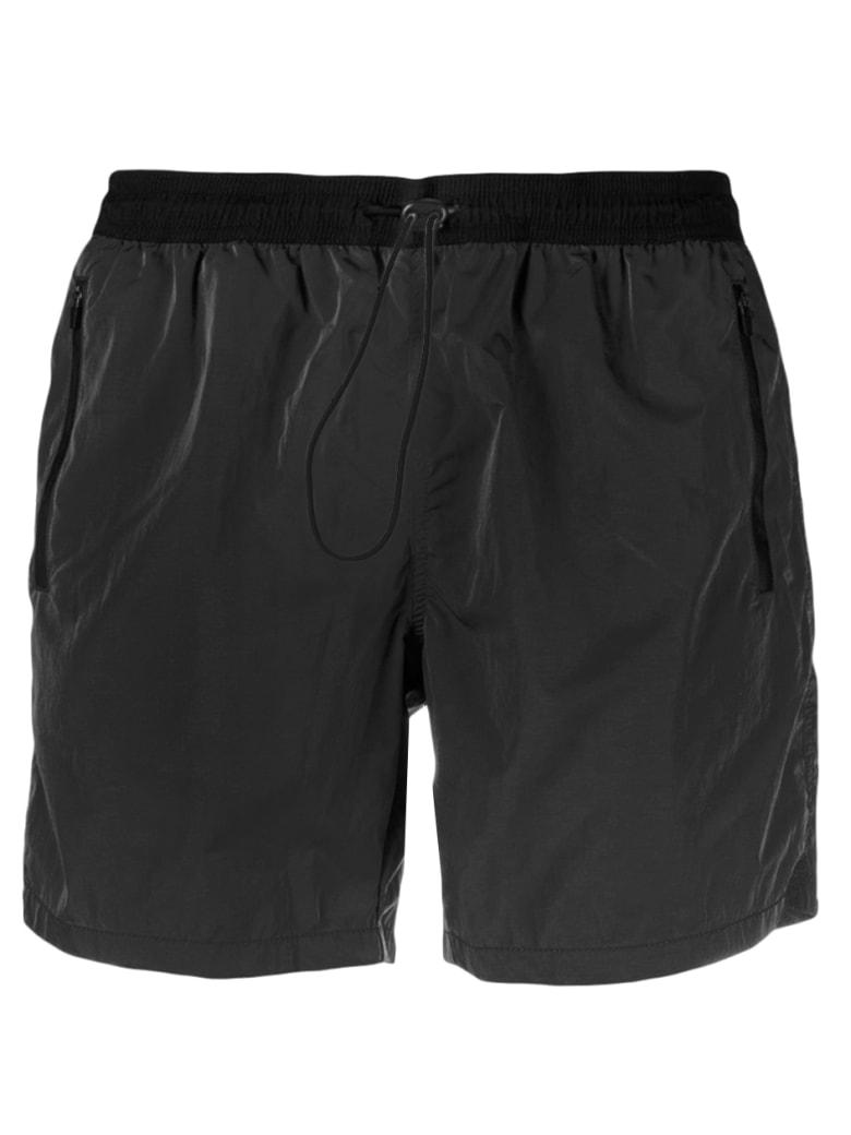 MC2 Saint Barth Light Fabric Swim Shorts With Zipped Pocket
