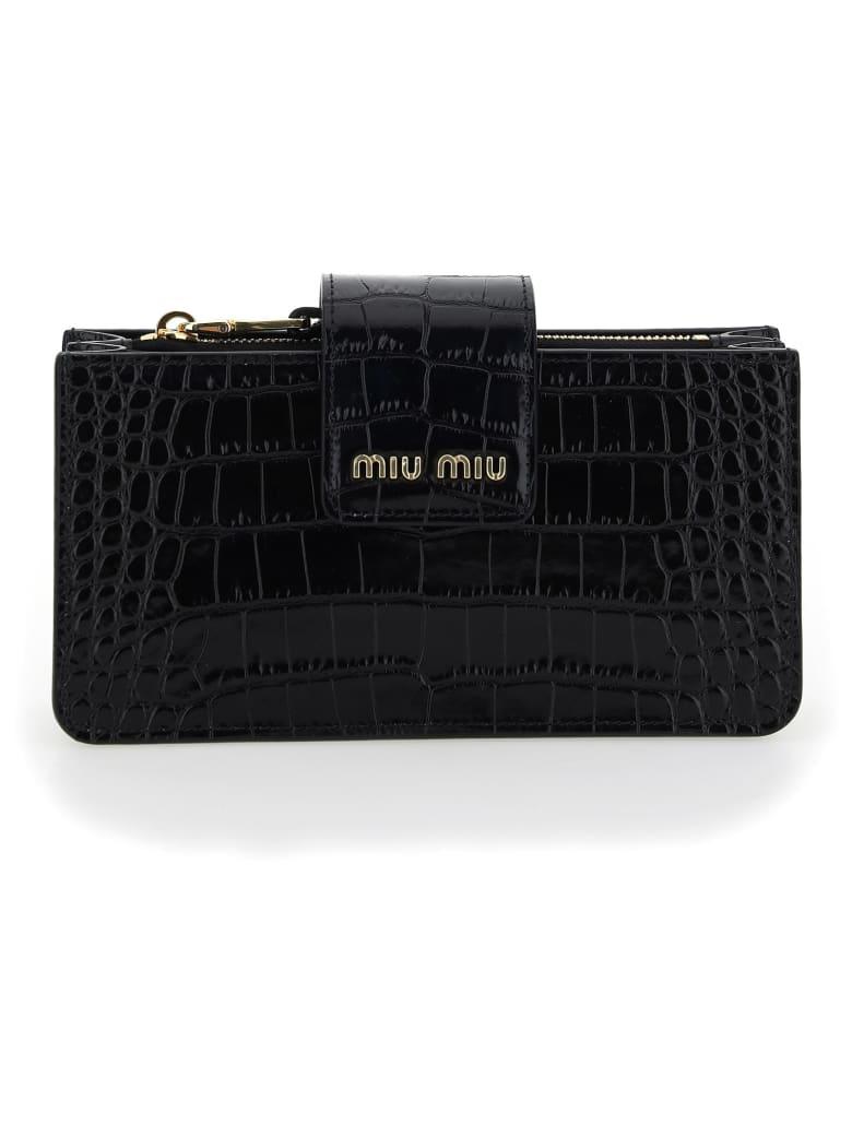 Miu Miu Clutch - Nero