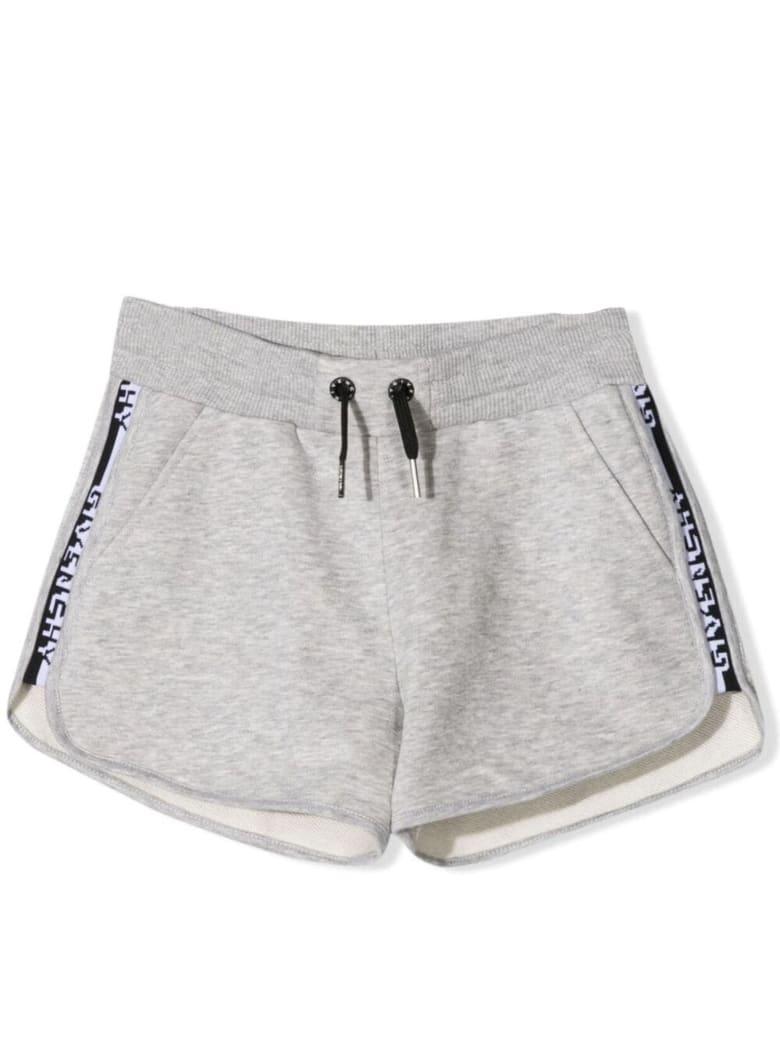 Givenchy Grey Cotton Shorts - Grigio