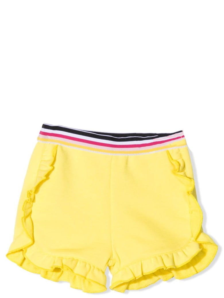 Givenchy Shorts With Ruches - Straw
