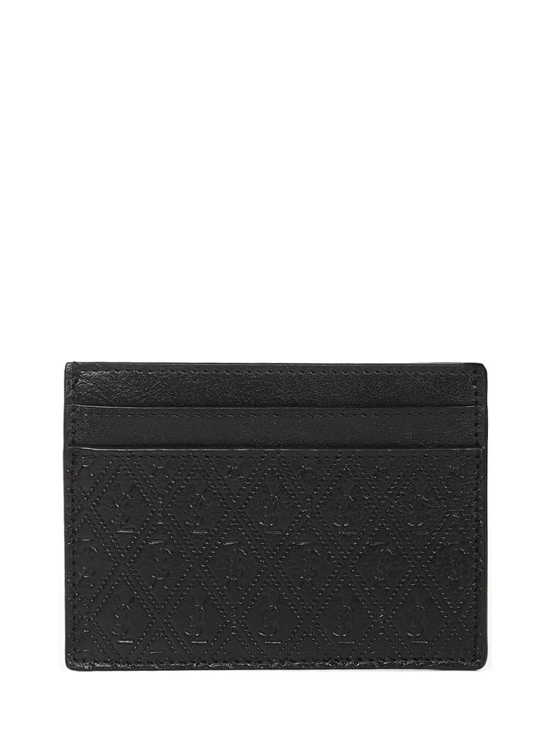 Saint Laurent Monogram Card Holder - Black