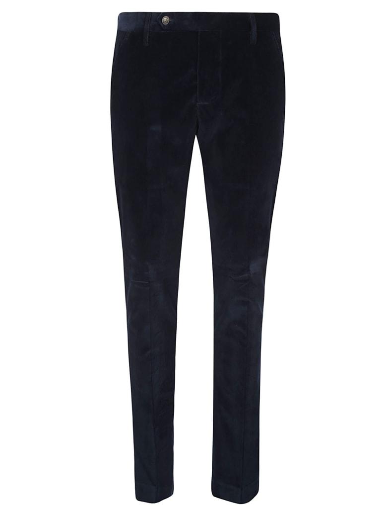 Entre Amis Classic Corduroy Trousers - Blue