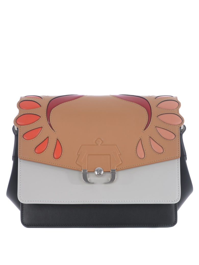 Paula Cademartori Shoulder Bag - Beige/bianco/nero