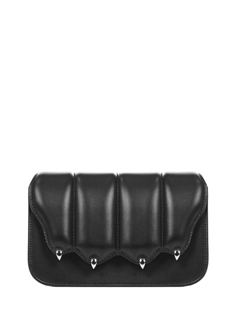 Marco de Vincenzo Griffe Shoulder Bag - Black