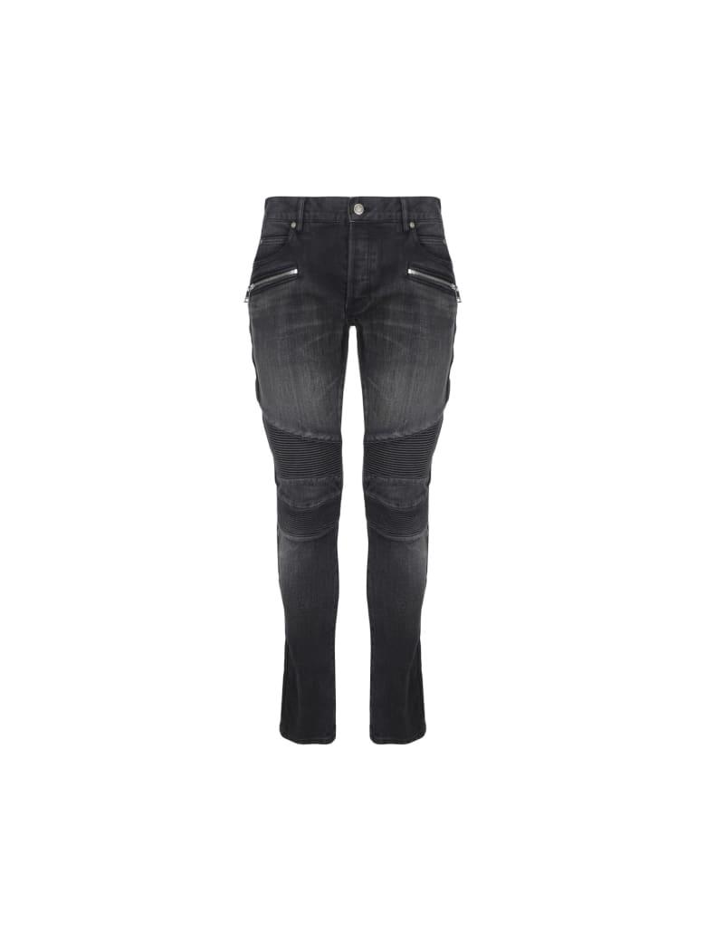 Balmain Jeans - Noir delave