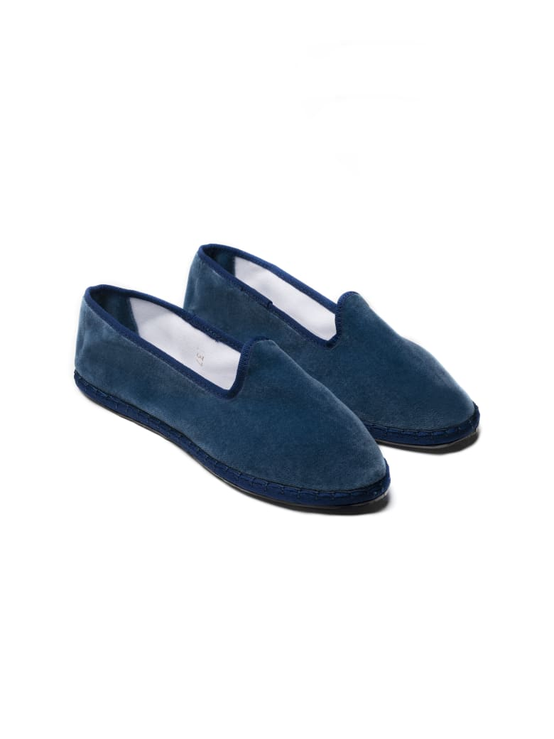 Le Sur Friulana Loafer - Blue Avion