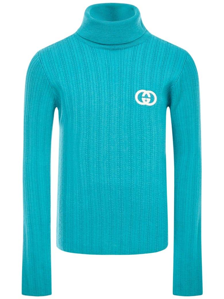 Gucci Junior Sweater - Light blue