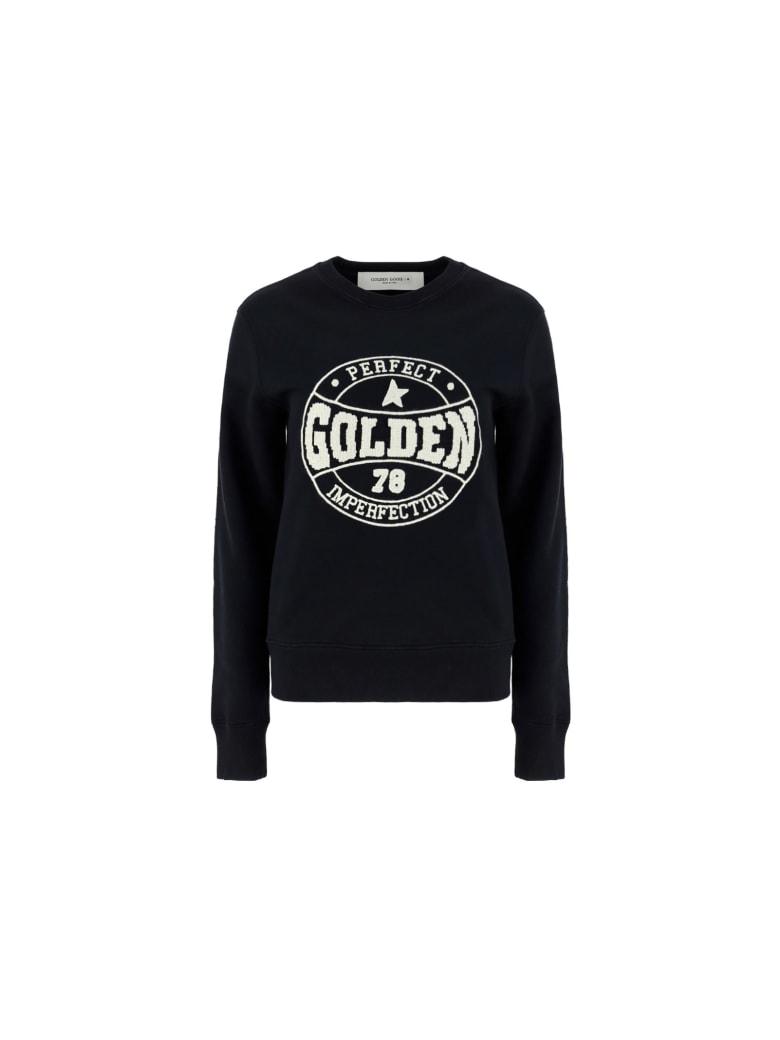 Golden Goose Athena Sweatshirt - Black/bone white