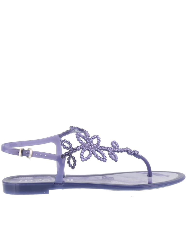 Menghi Sandals - Purple