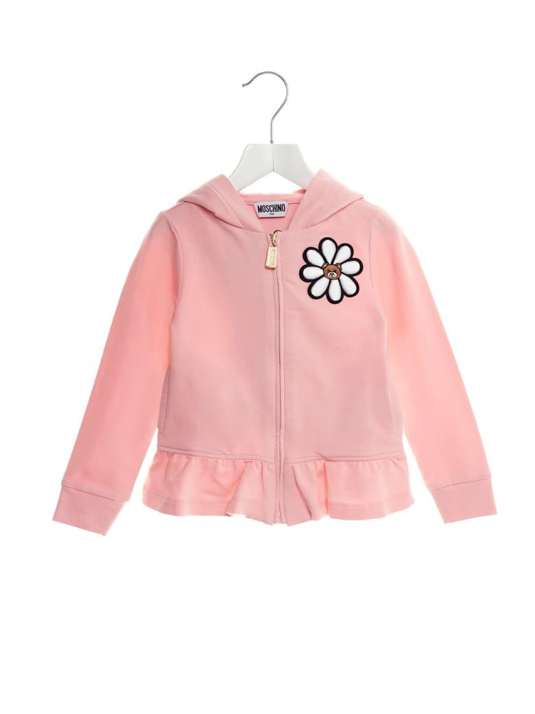 Moschino 'daisy' Sweater - Pink