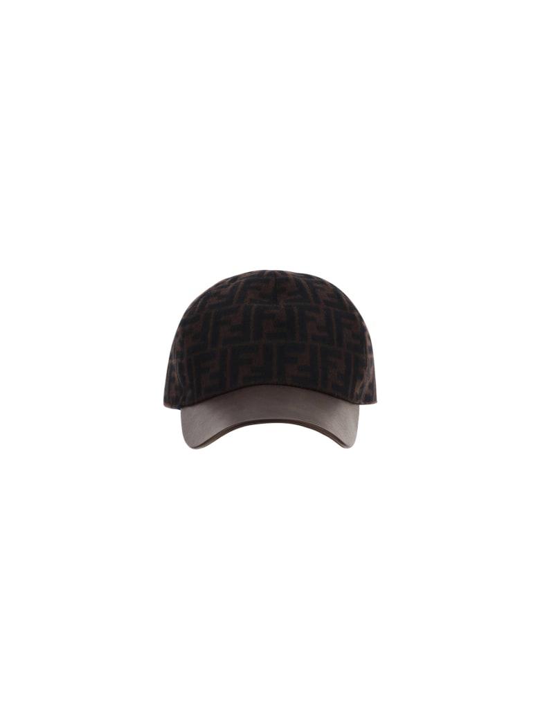Fendi Hat - Marrone