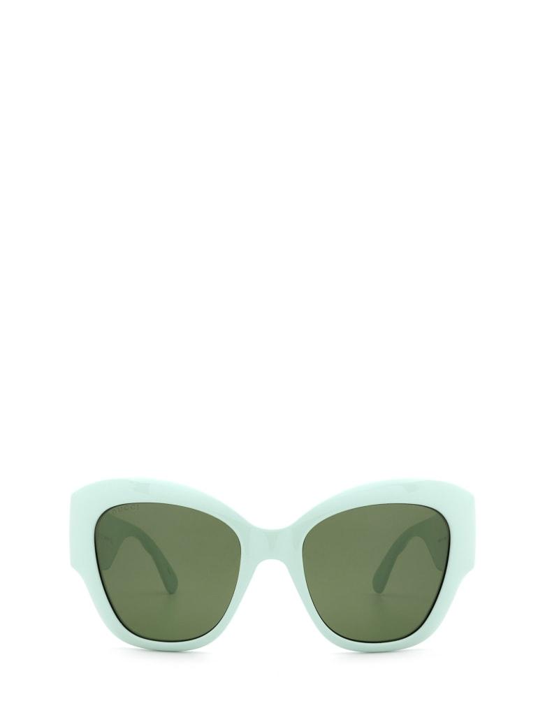 Gucci Gucci Gg0808s Green Sunglasses - Green