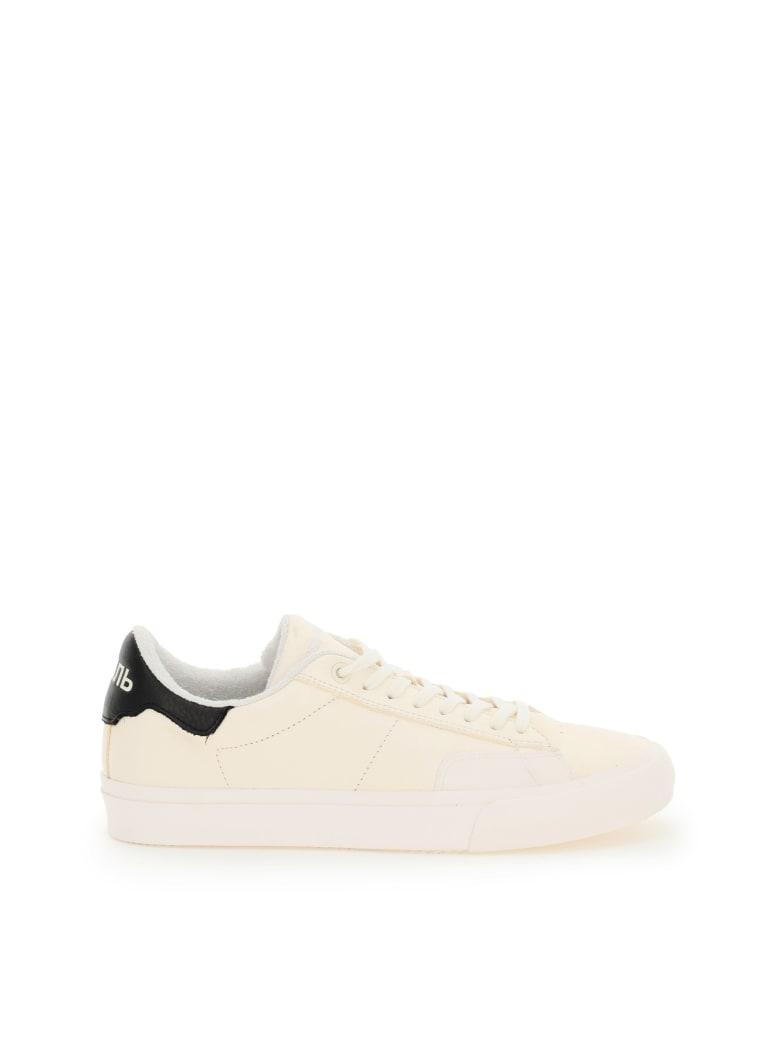 HERON PRESTON Vulcanized Low Top Sneakers - WHITE BLACK (White)