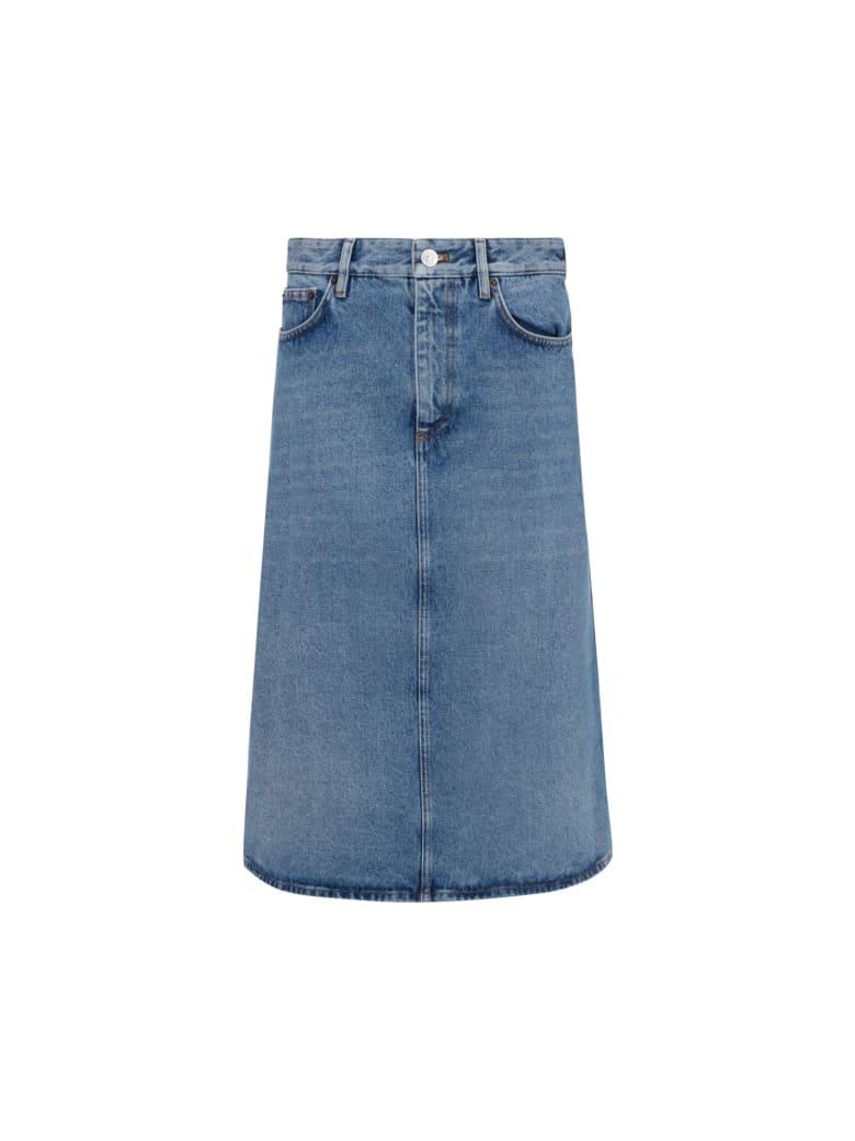 Balenciaga Denim Skirt - Stonewash indigo