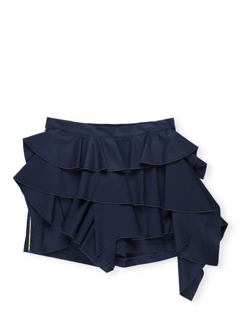 Emilio Pucci Flounced Short - Blue