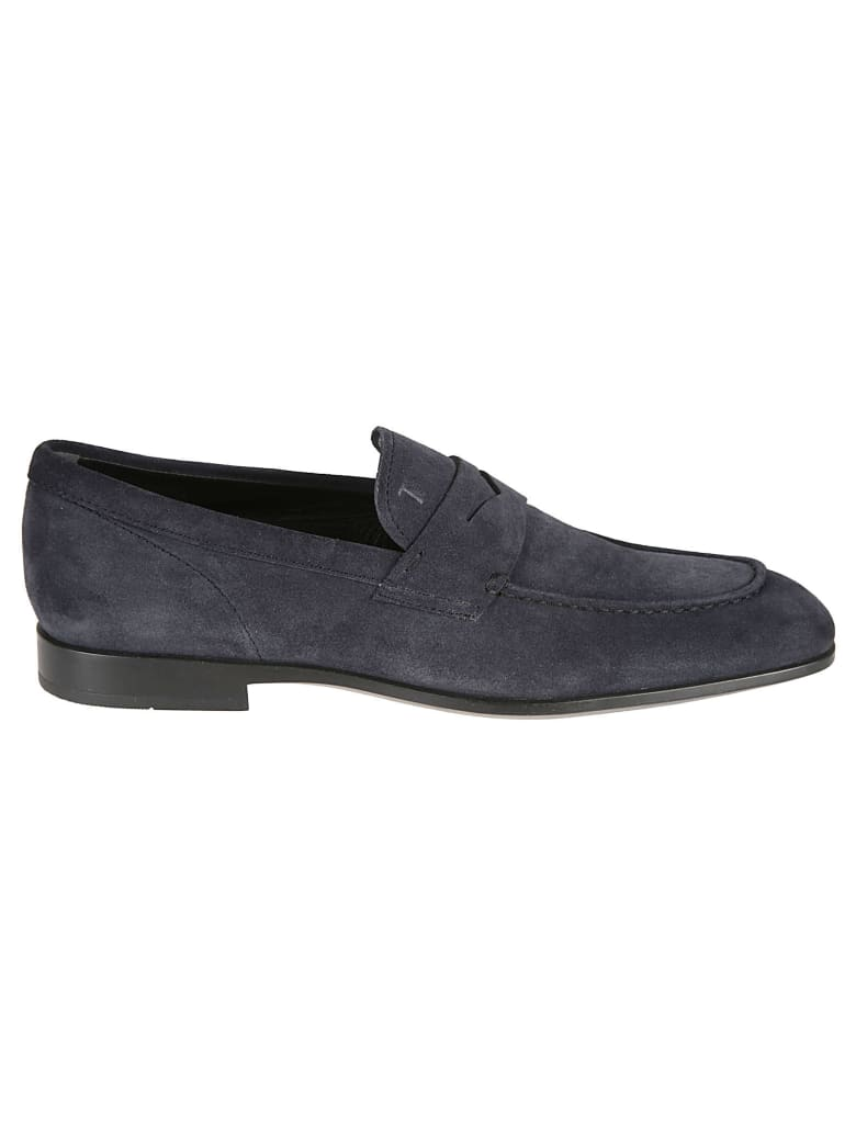Tod's Classic Loafers - Blue