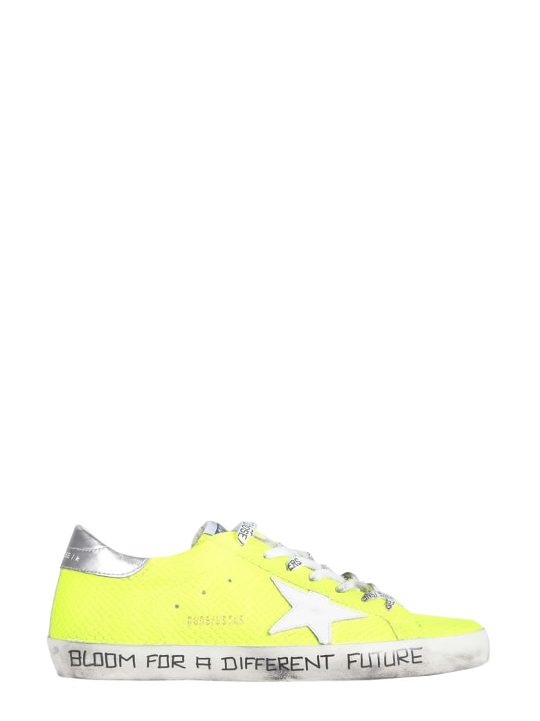 Golden Goose Super-star Sneakers - GIALLO